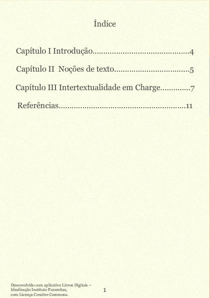Considerações sobre intertextualidade em Charges