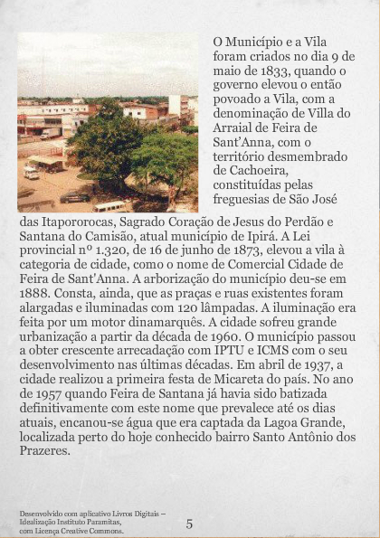 Feira de Santana Cidade Princesa