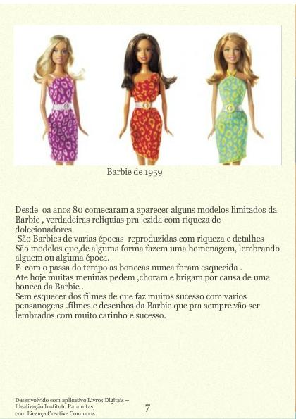 A Mulher que  inventou a Barbie