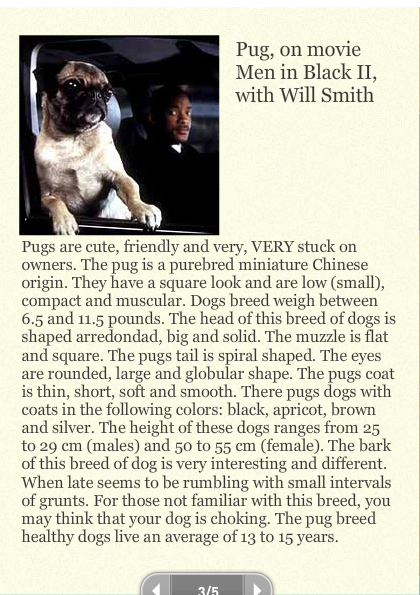 Dogs and Their Characteristics