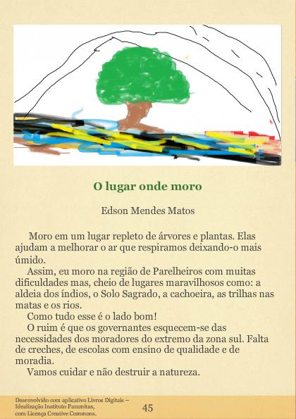 MEMÓRIAS DE UM LUGAR: ANTOLOGIA POÉTICA I