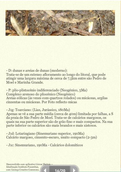 Apontamentos geológicos do ribeiro de S. Pedro de Moel
